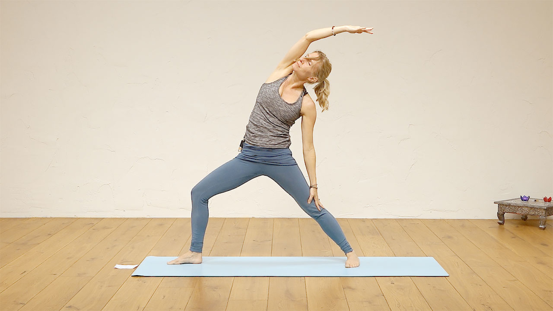 Energy freeing lunch time yoga