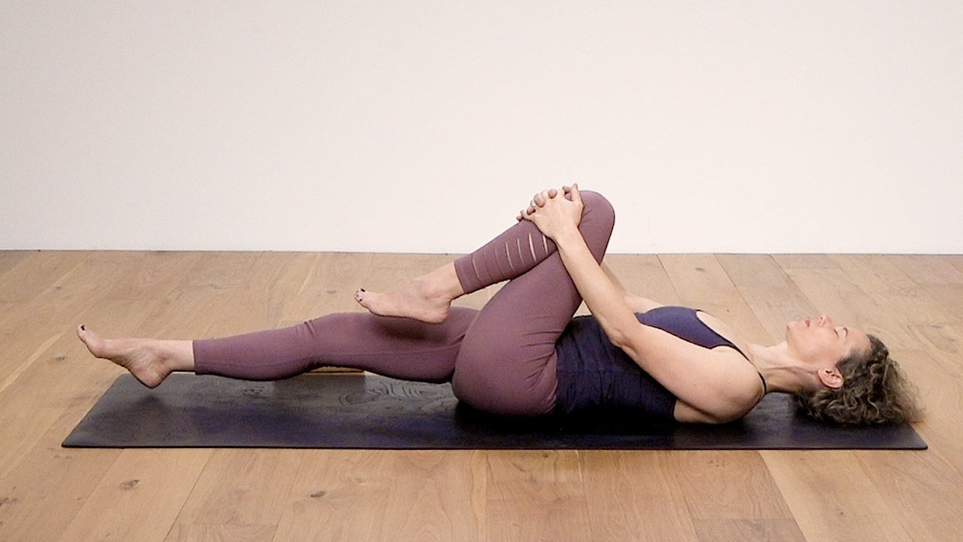 Body and psoas stress release class