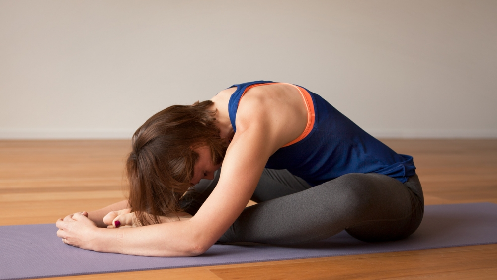 Butterfly pose Yin yoga