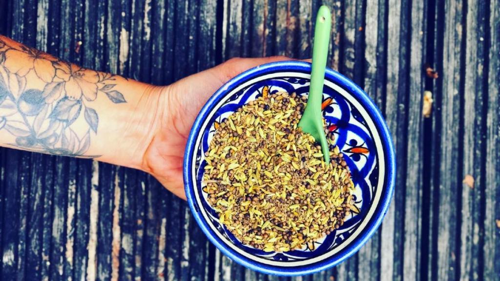 Digestion boosting seed mix EkhartYoga