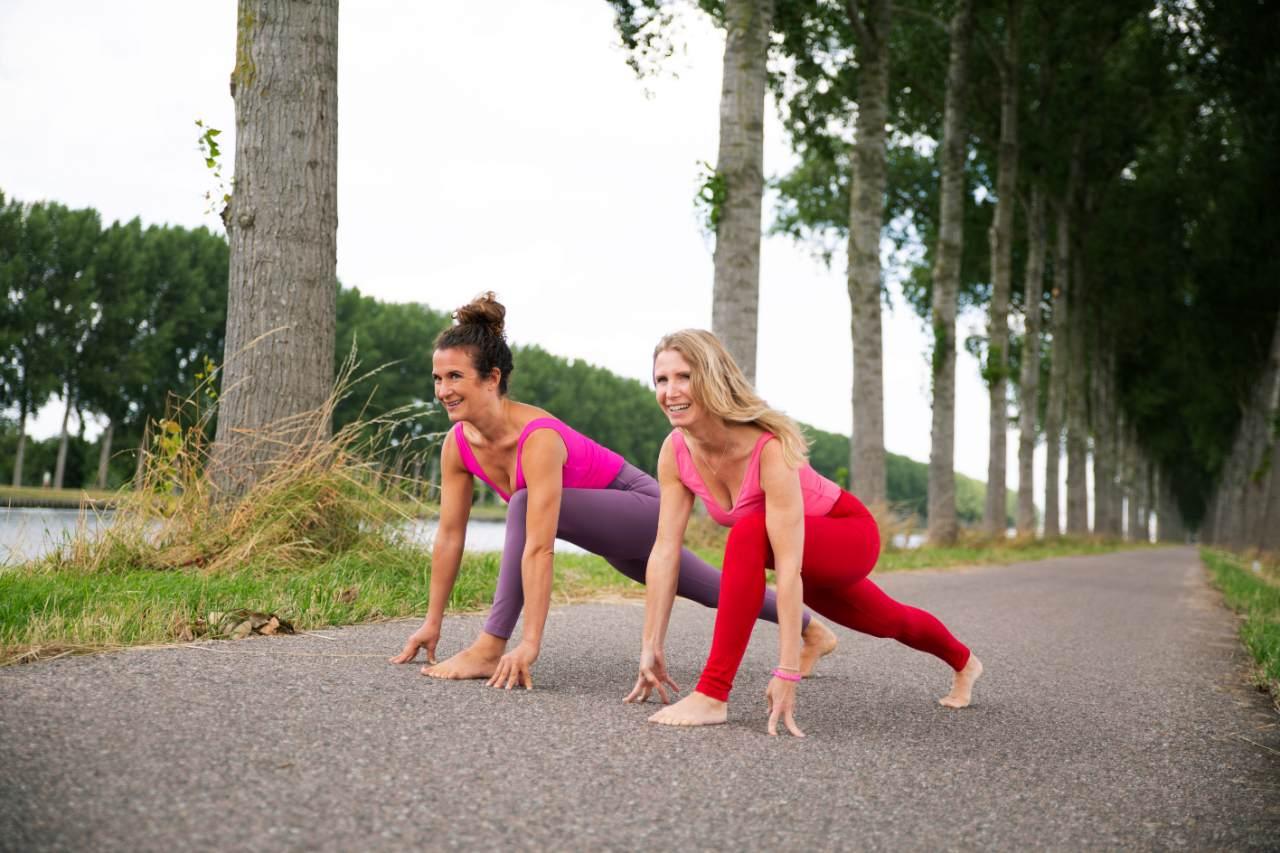 Esther and Gilda 3 week yoga program