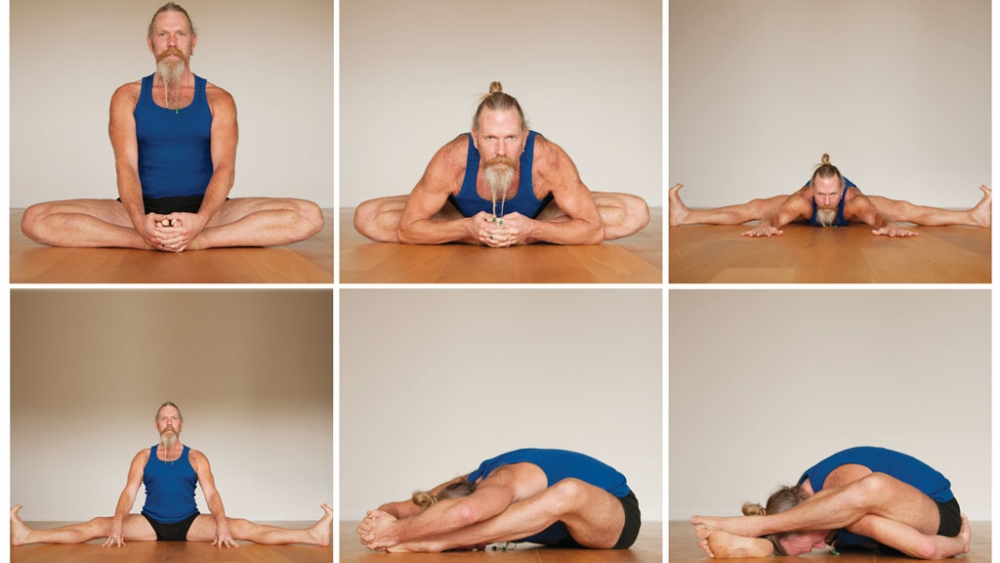 Firefly yoga sequence