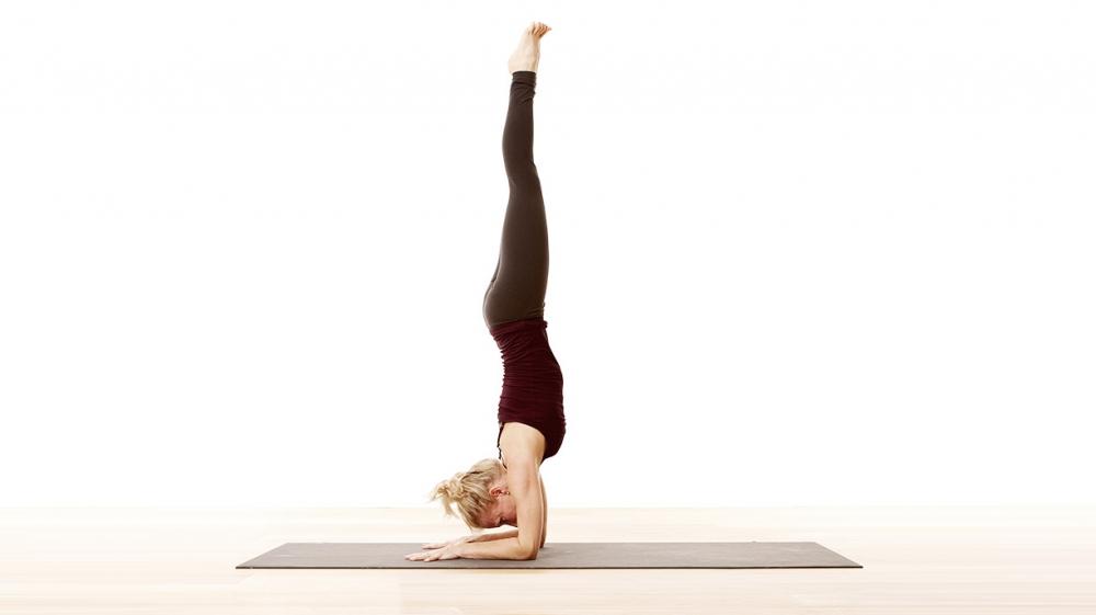 Forearm balance pose tips