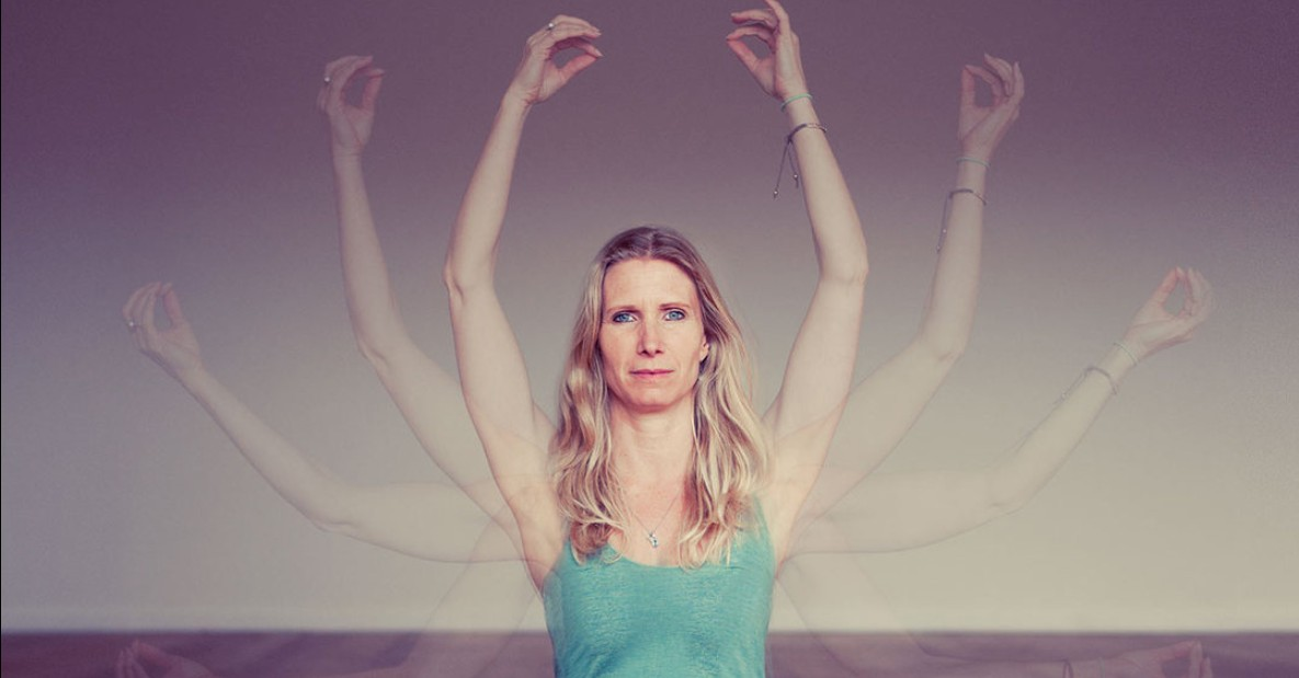 Esther Ekhart in the 8 limbs of yoga