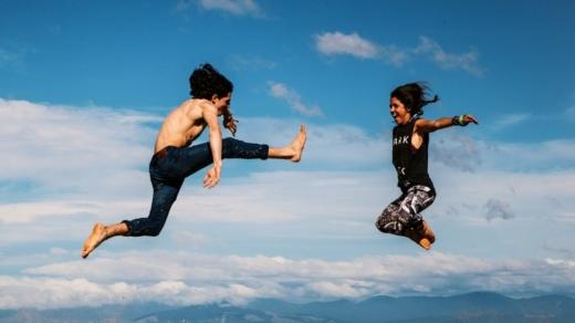 Mood-boosting yoga
