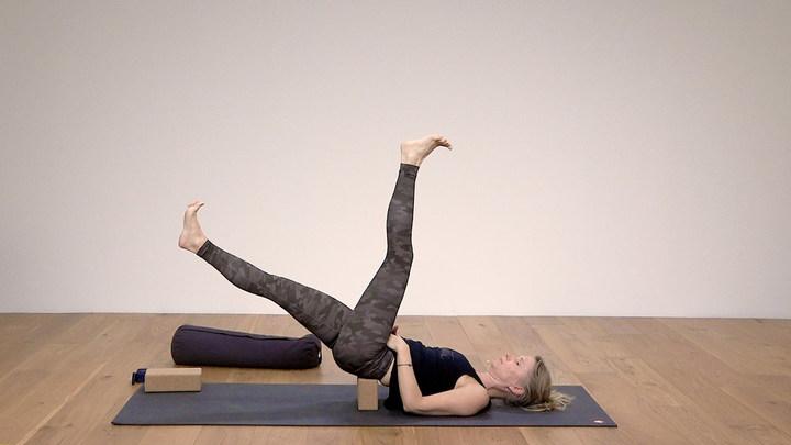 Yoga practice pain relief