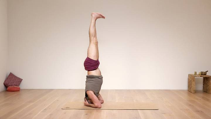 Strengthen and prepare for headstand