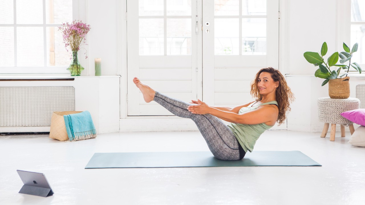 Supercharge your self love with home yoga practice