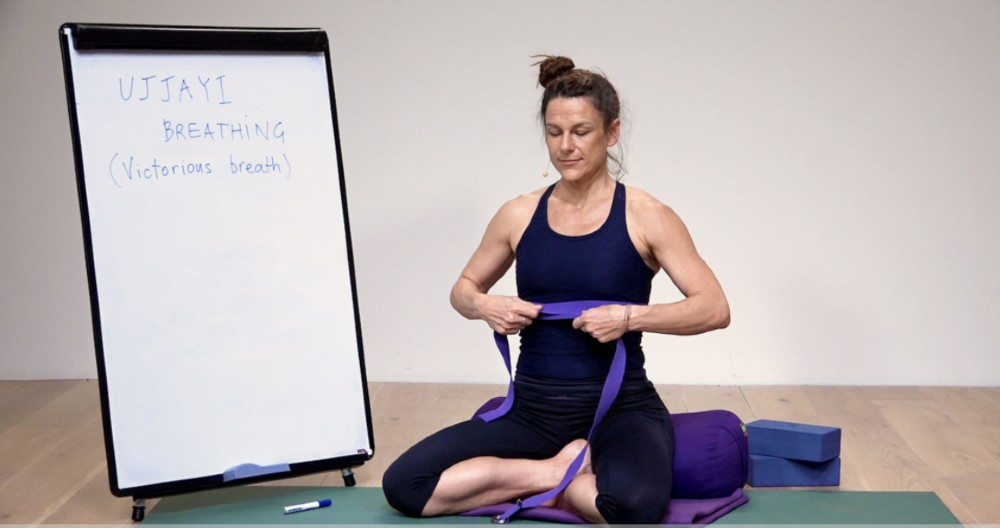 Ujjayi breathing tutorial