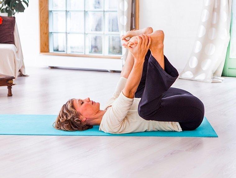 Yin yoga on EkhartYoga