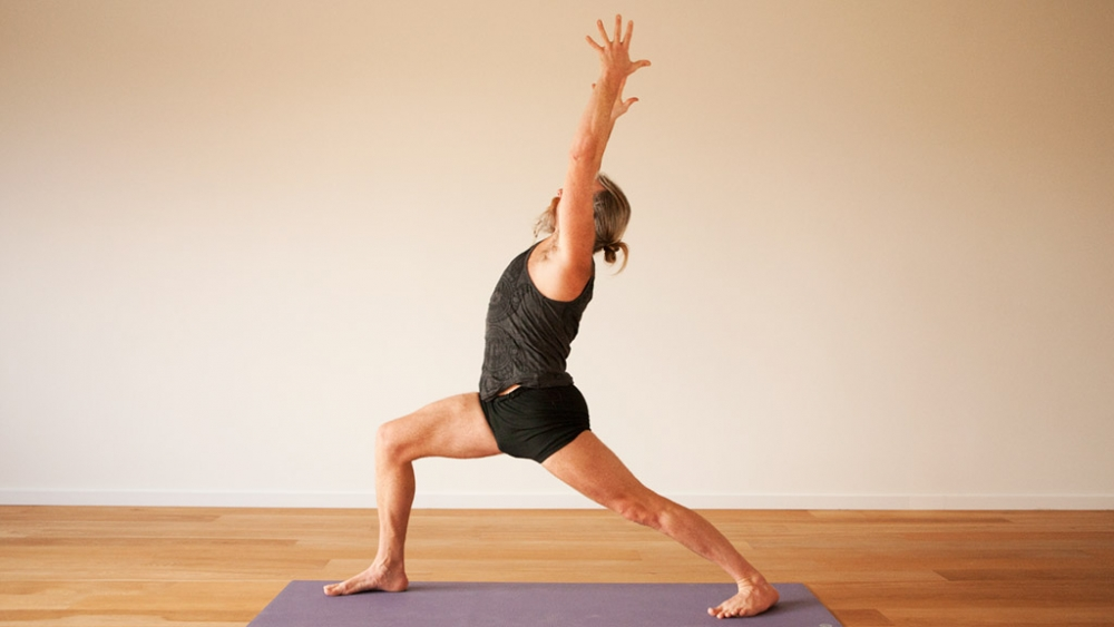 Yoga for balancing the doshas warrior-1-andrew-wrenn