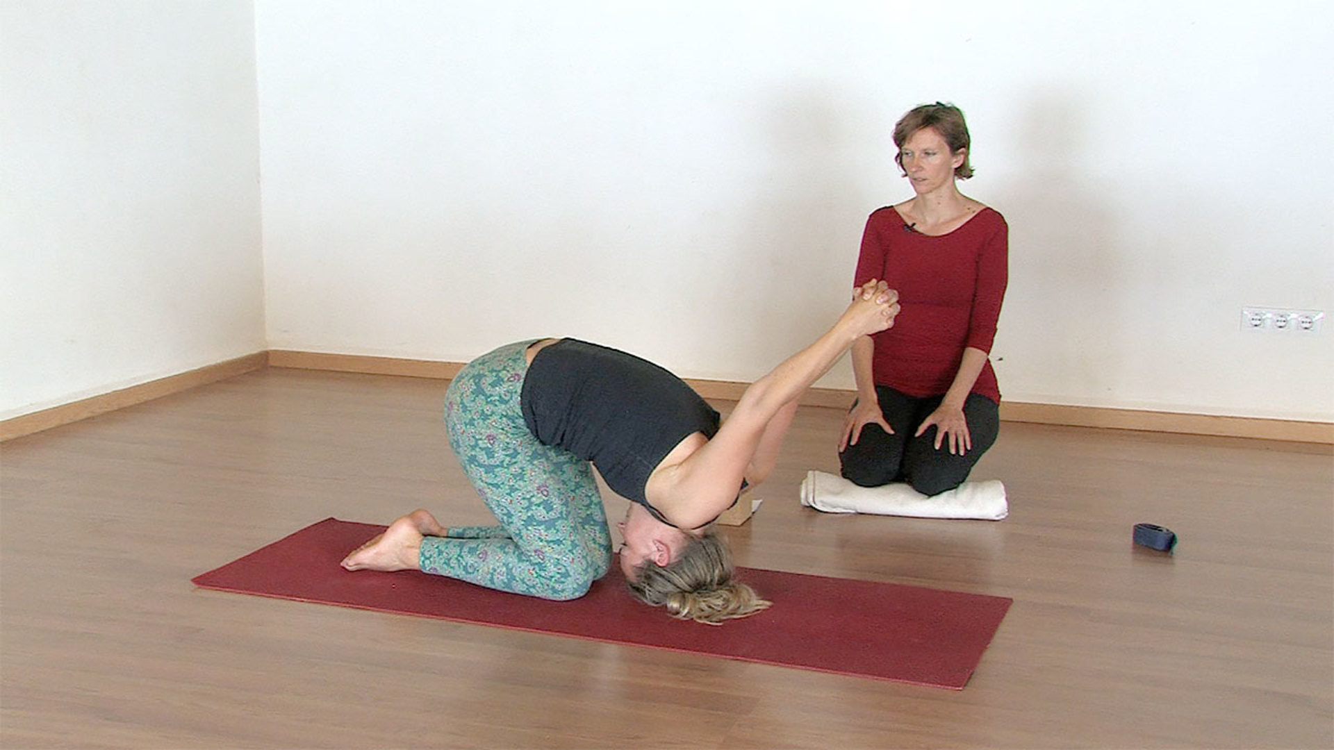 Yoga for thoracic upper and mid back