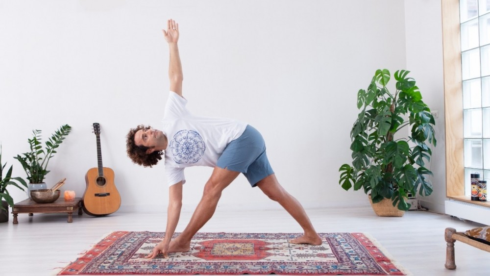 Home yoga studio program
