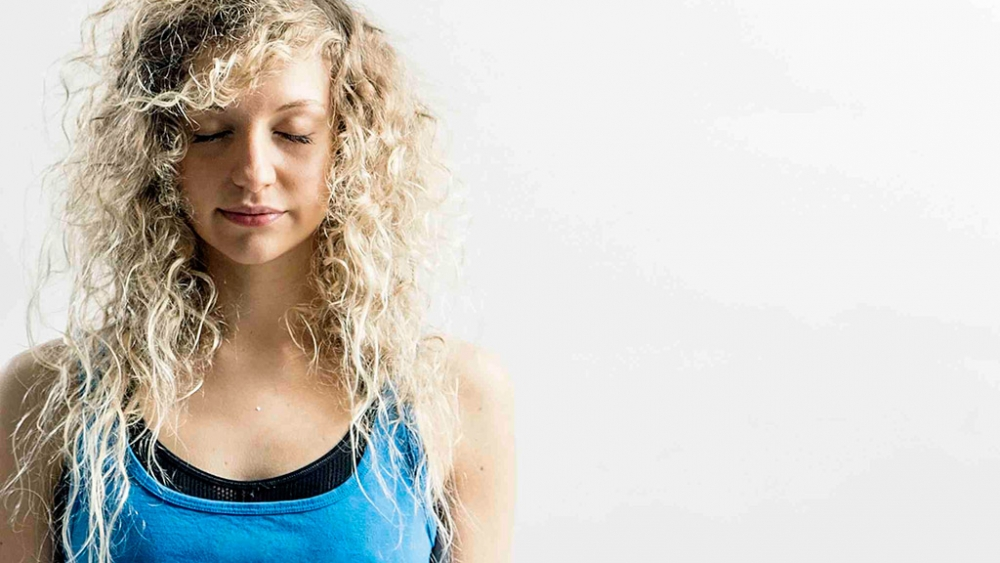Setting and intention in yoga class