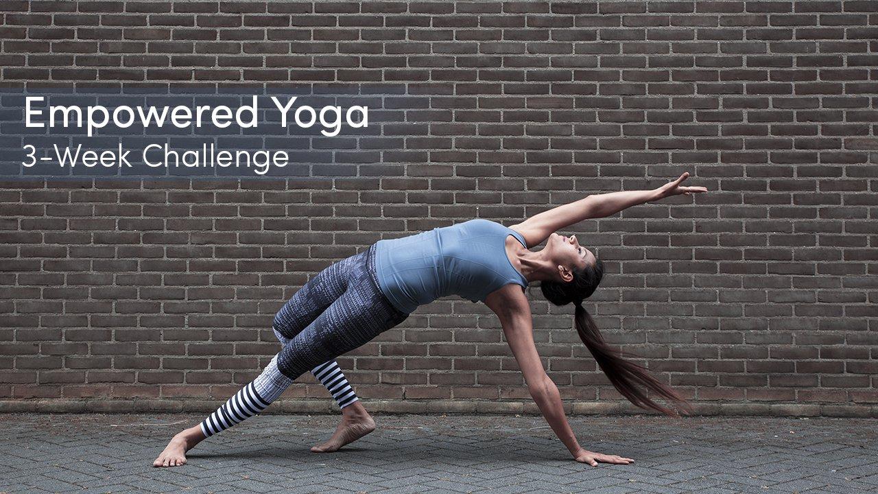 empowered-yoga-challenge program