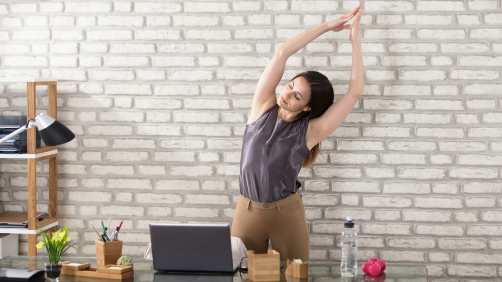 Office Yoga Simple Exercises For Behind Your Desk Ekhart Yoga