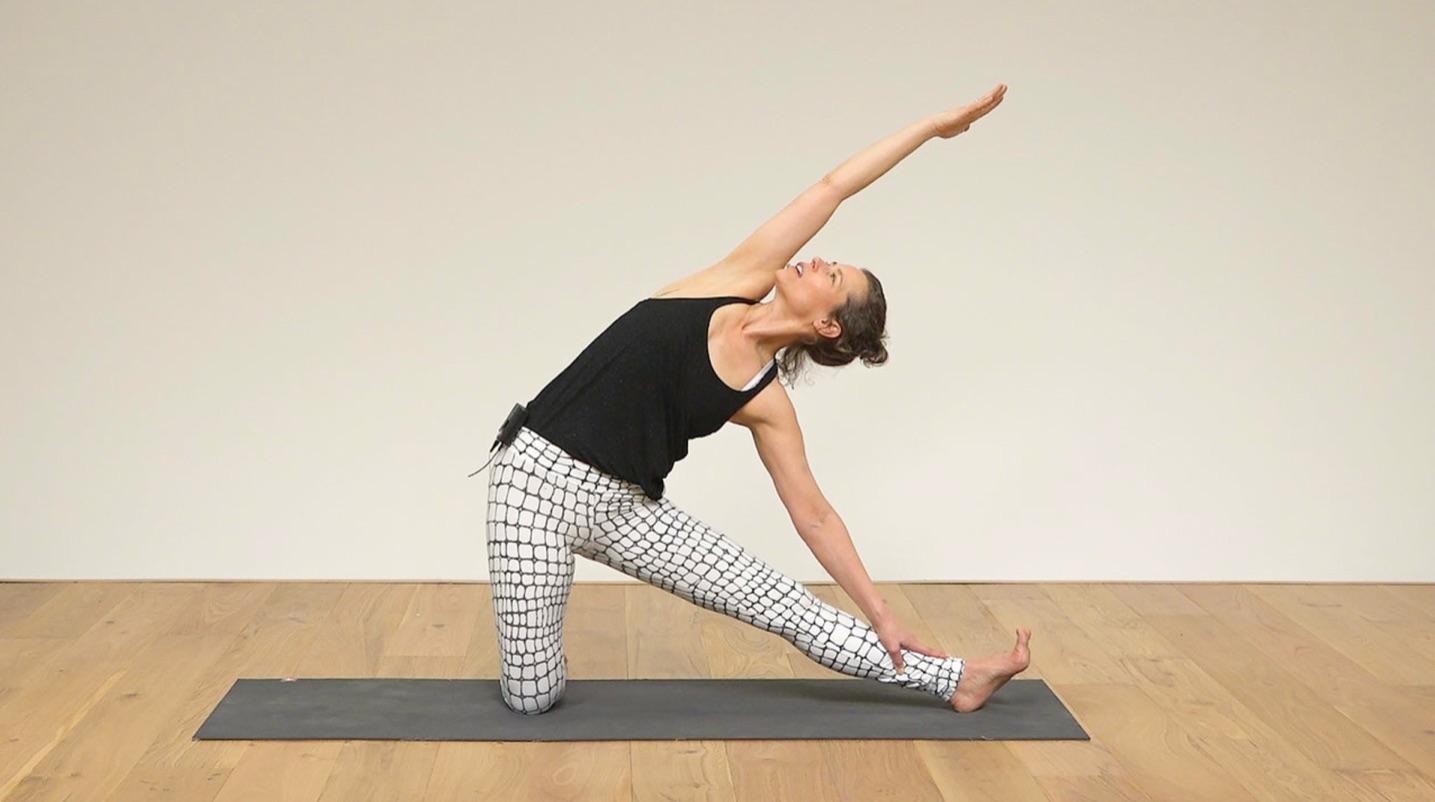 yoga practice, Sandra Carson