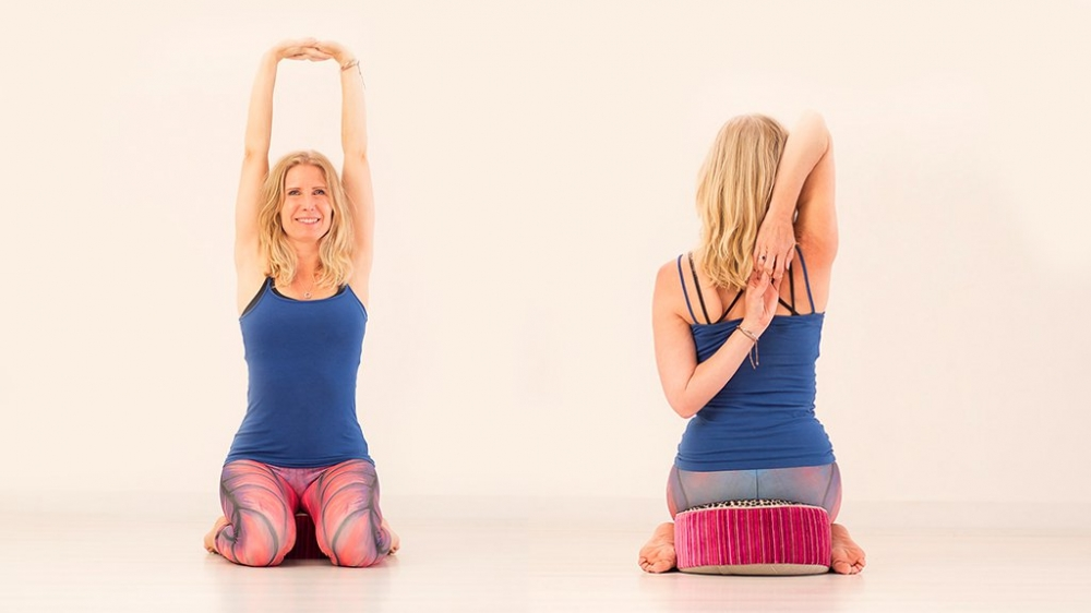 Yoga sequence for healthy shoulders