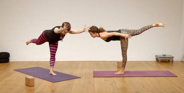 Hot Warrior yoga 60 minute cardio flow