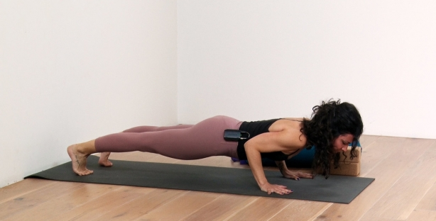 Chaturanga Dandasana tutorial