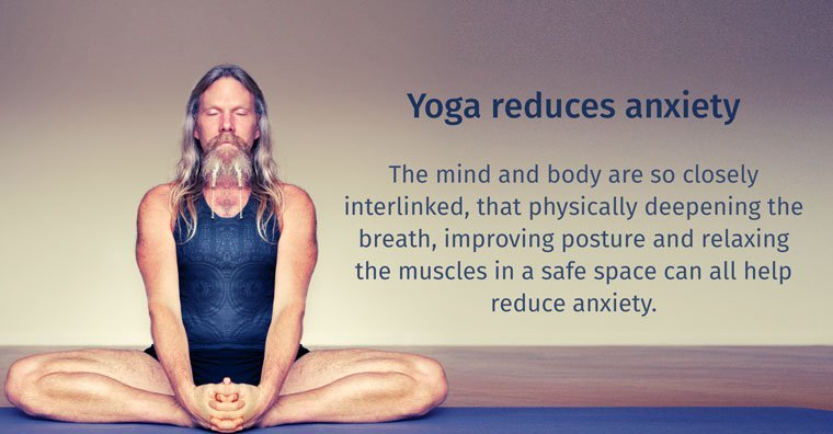 yoga reduces anxiety