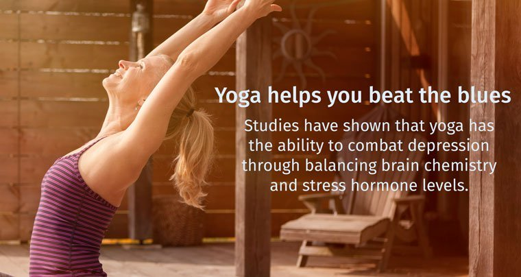 yoga helps you beat the blues