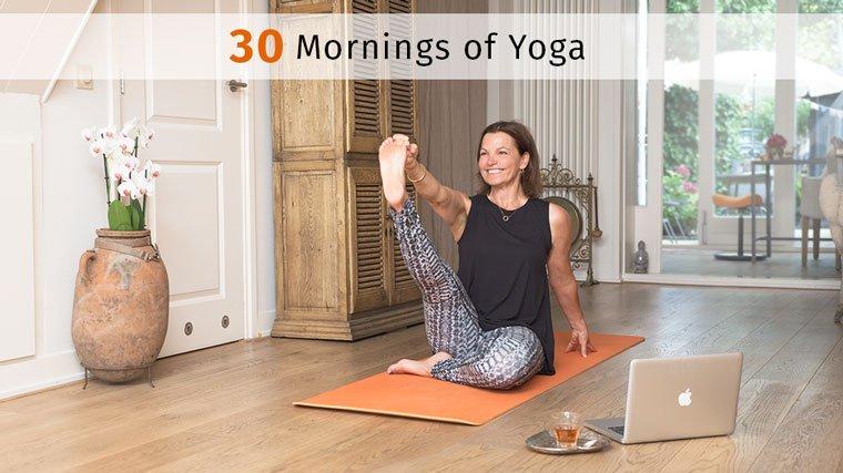 30 mornings of yoga program