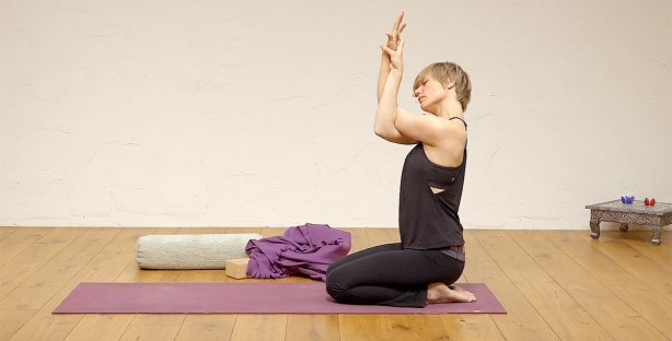 Stress free shoulders and neck, healthy spine and strong belly