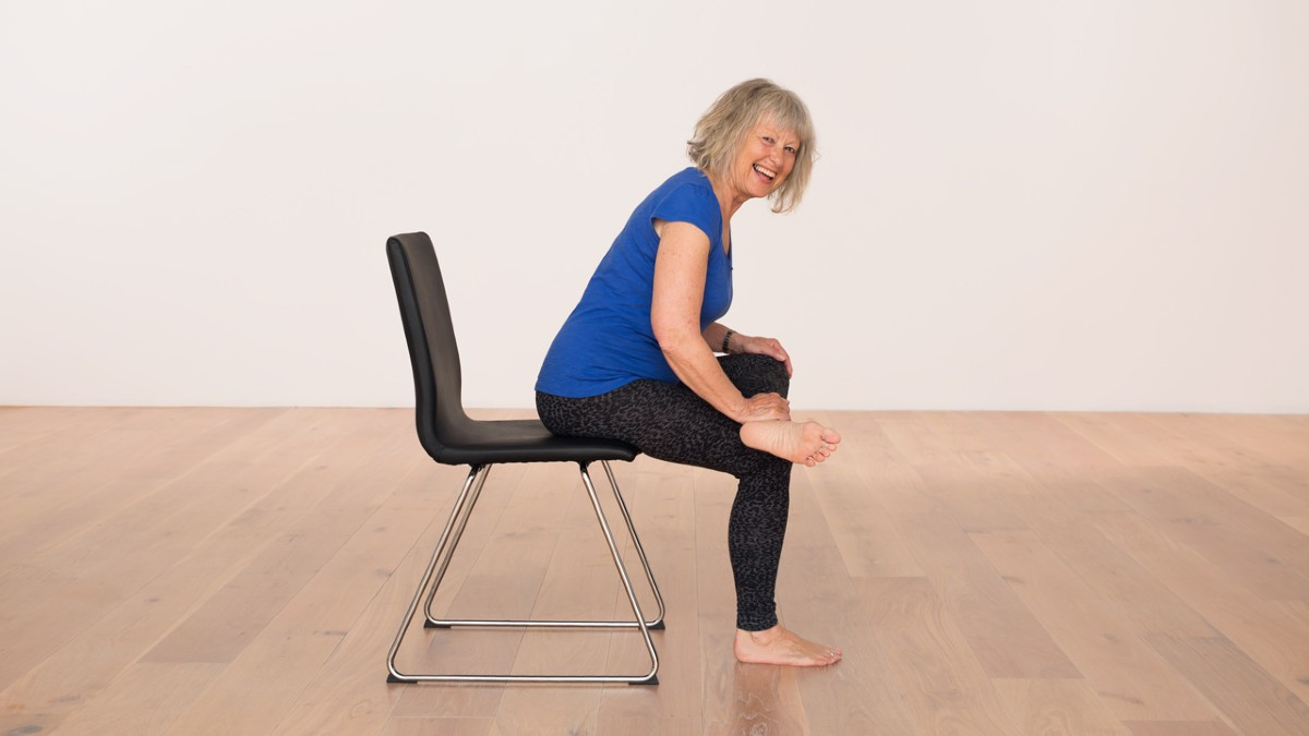 Chair yoga sequence EkhartYoga