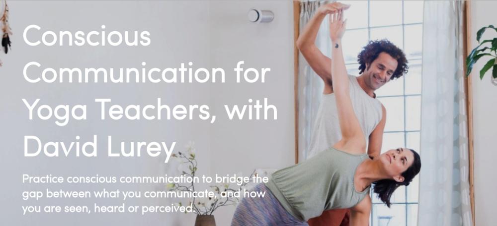 Conscious communication for yoga teachers