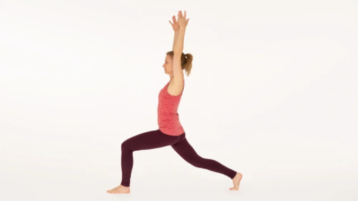 Crescent Pose High Lunge Anjaneyasana Ekhart Yoga