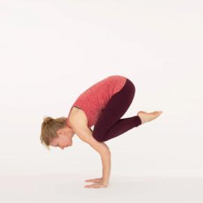 crow pose  ekhart yoga