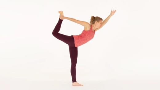 Dancers Pose Natarajasana Ekhart Yoga
