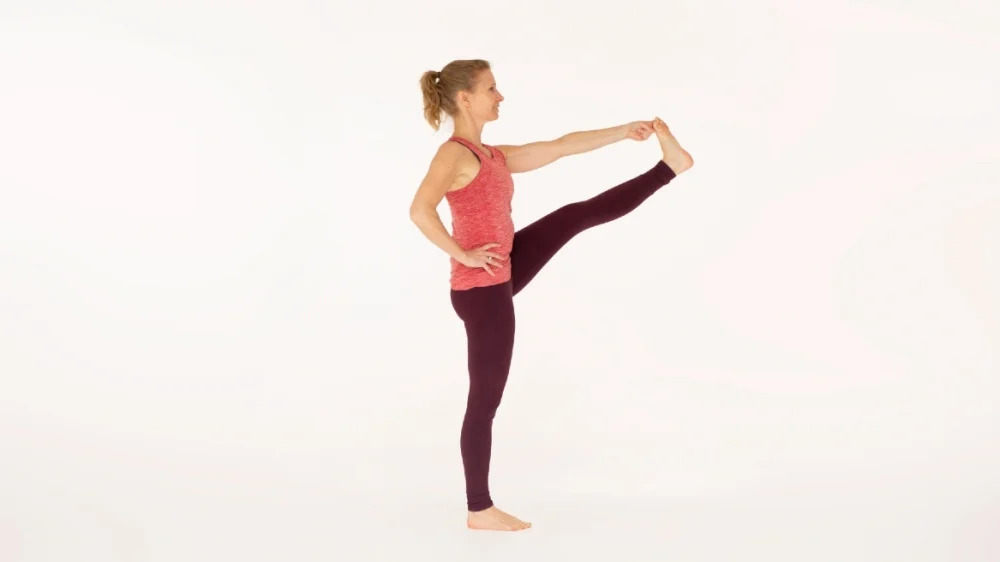 Extended Hand To Big Toe Pose A-B