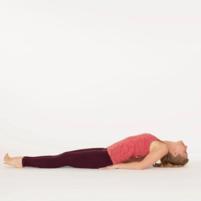 fish pose  ekhart yoga