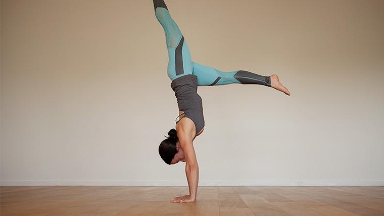 Handstand hops
