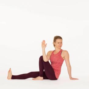 Marichyasana C Yoga pose Esther Ekhart
