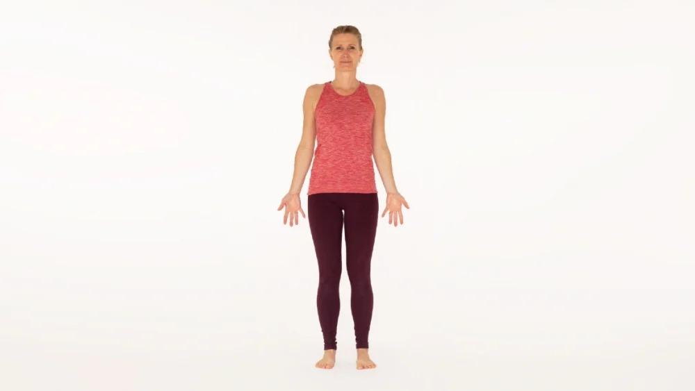 Mountain pose Tadasana Ekhart Yoga