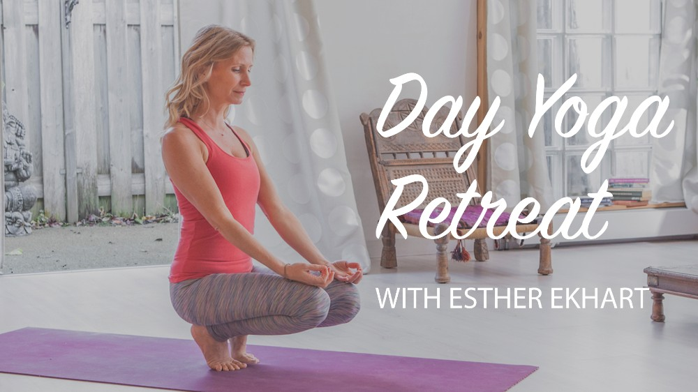 Online home yoga retreat with Esther Ekhart - how to plan your day