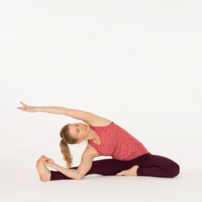 Parivrtta Janu Sirsasana Revolved Head to knee pose
