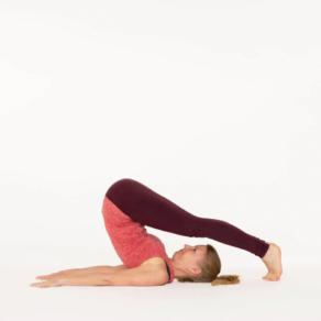 Plough Pose Halasana Yoga pose Esther Ekhart