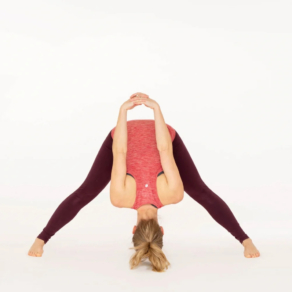 Prasarita Padottanasana C Yoga pose Esther Ekhart