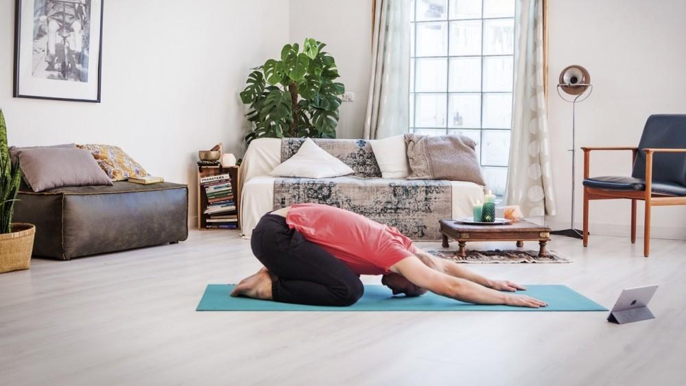 Sore muscles after yoga Ekhart Yoga