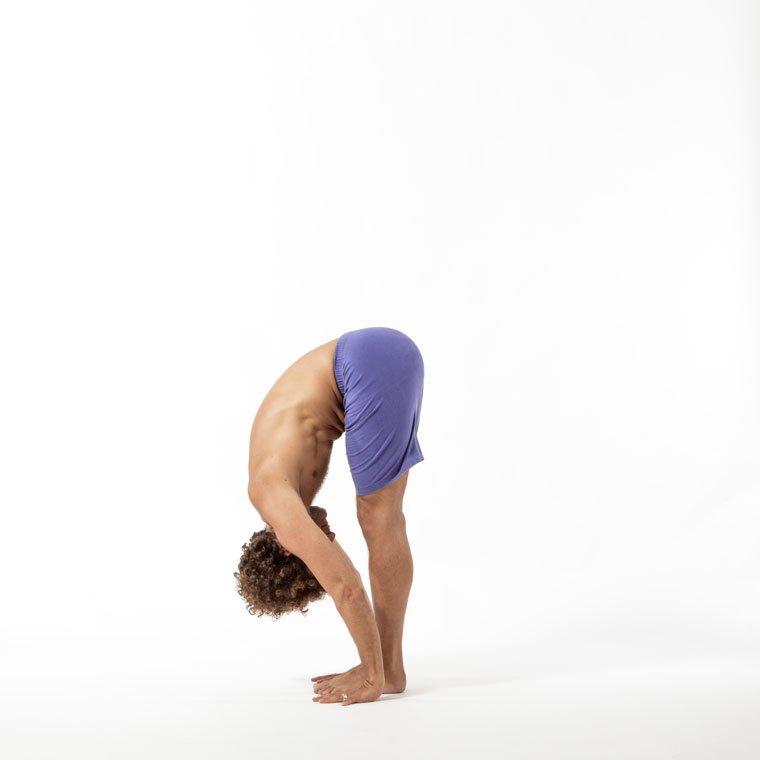 Uttanasana - Standing forward fold