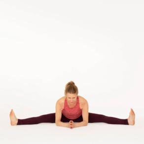 Upavishta Konasana Esther Ekhart Yoga