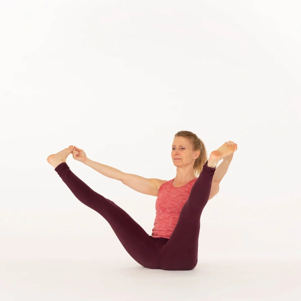Upward Facing Wide-Angle Seated Pose  Ekhart Yoga