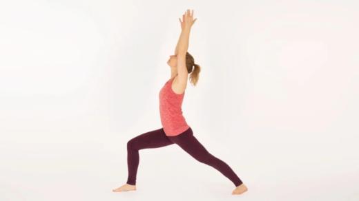 Warrior 1 Pose Virabhadrasana 1 Ekhart Yoga