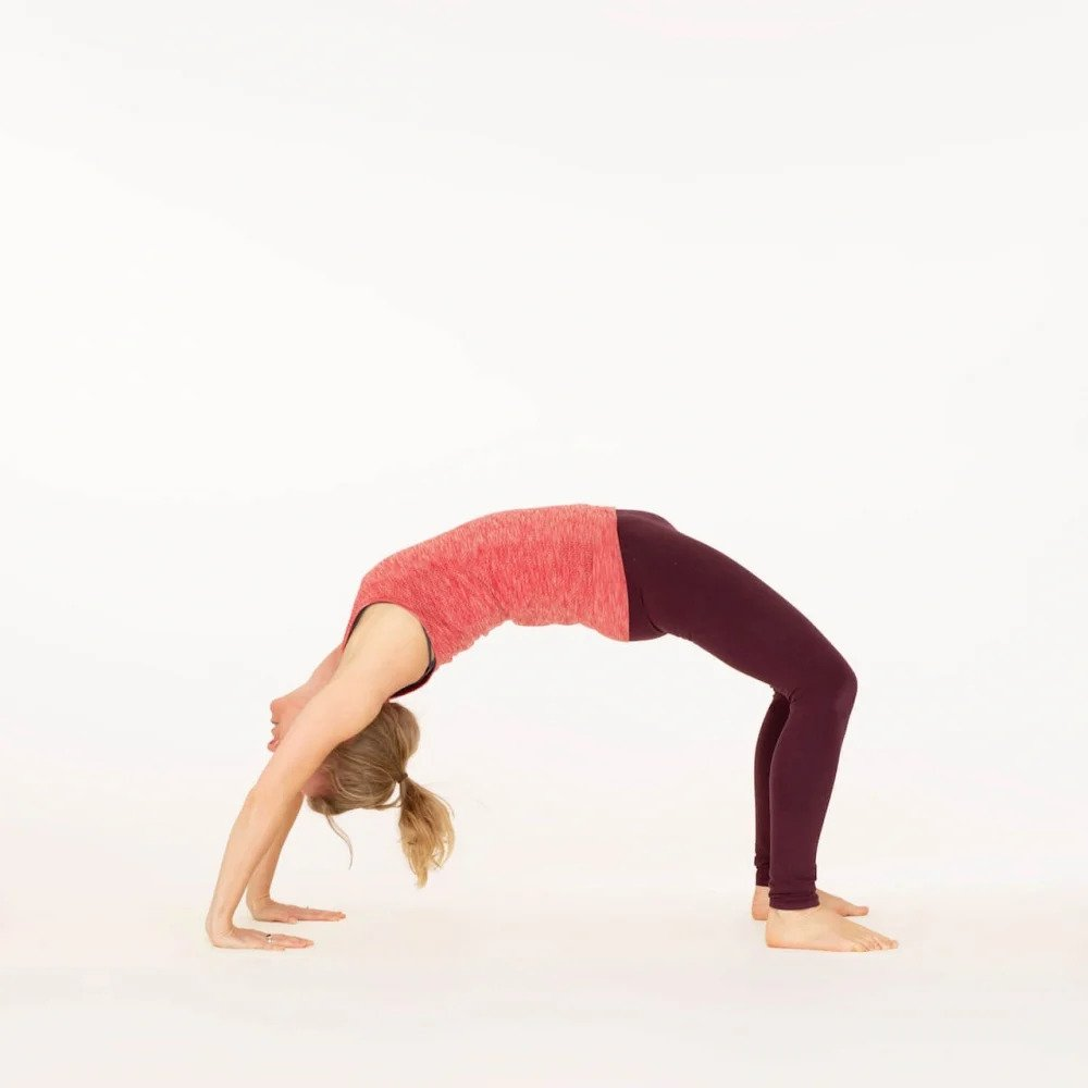 Upward Bow or Wheel Pose
