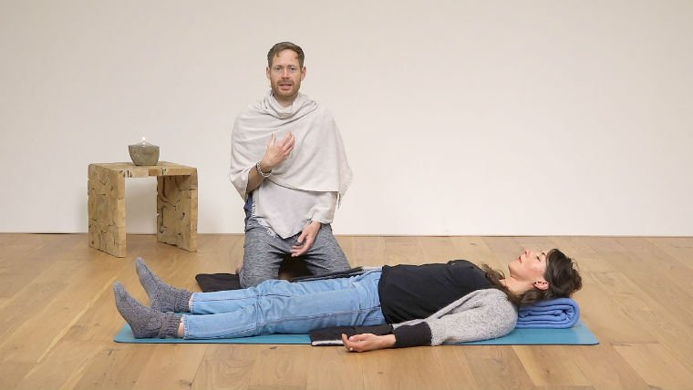 James Reeves, Yoga Nidra